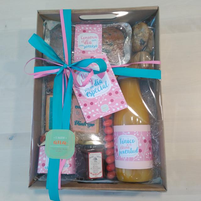 Caja de desayuno de regalo