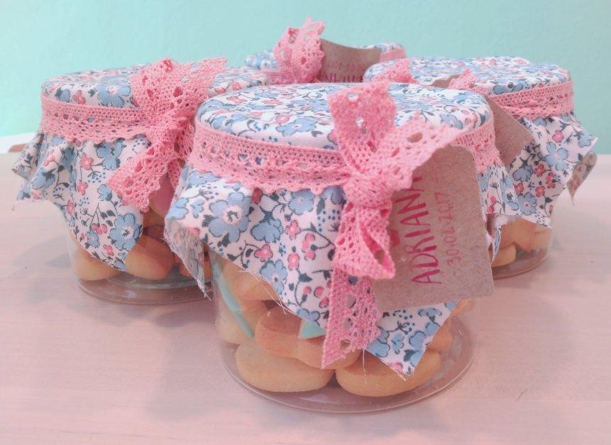 Bote de galletas para comunion