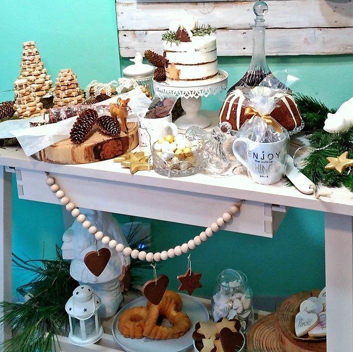 Buffet dulce de Navidad